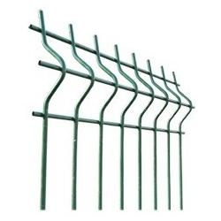 zváraný panel D5 ZnPVC zelený 1000