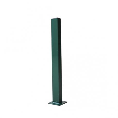 stĺpik 60x40 s pätkou 1600 zelený