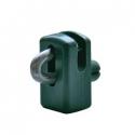 vodiaca spinka PVC zelená