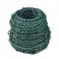 ostnatý drôt ZnPVC 2,0/2,5 100m zelený
