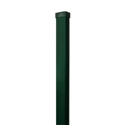 stĺpik 60x40 ZnPVC 2500 zelený