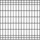 zvárané pletivo LUXOR ZnPVC RAL7016 1500 25m