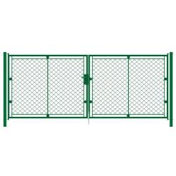 brána KLASIK 2K 3600x1000 zelená