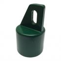 násadka na vzperu D48 AL zelená