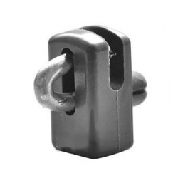 vodiaca spinka PVC čierna