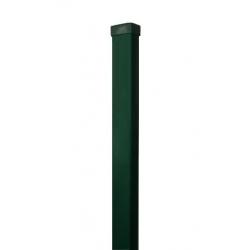 stĺpik 60x40 ZnPVC 2000 zelený