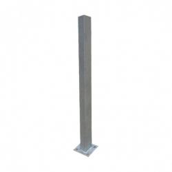 stĺpik 60x40 ZN s pätkou 1600