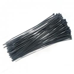 sťahovacie pásky UV čierne (100ks/bal.)