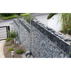 gabiónový plot ZN - sekcia 1,0 x 2,5m