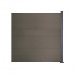 WPC plotový set sivá 1