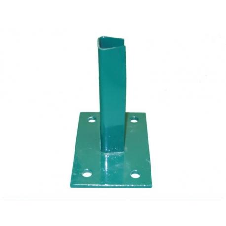 pätka na stĺpik D48 zelená