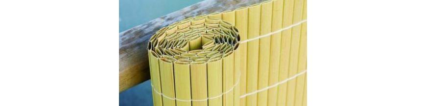umelé bambusové clony