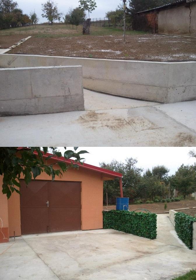 ETNA - oblozenie betonoveho muru